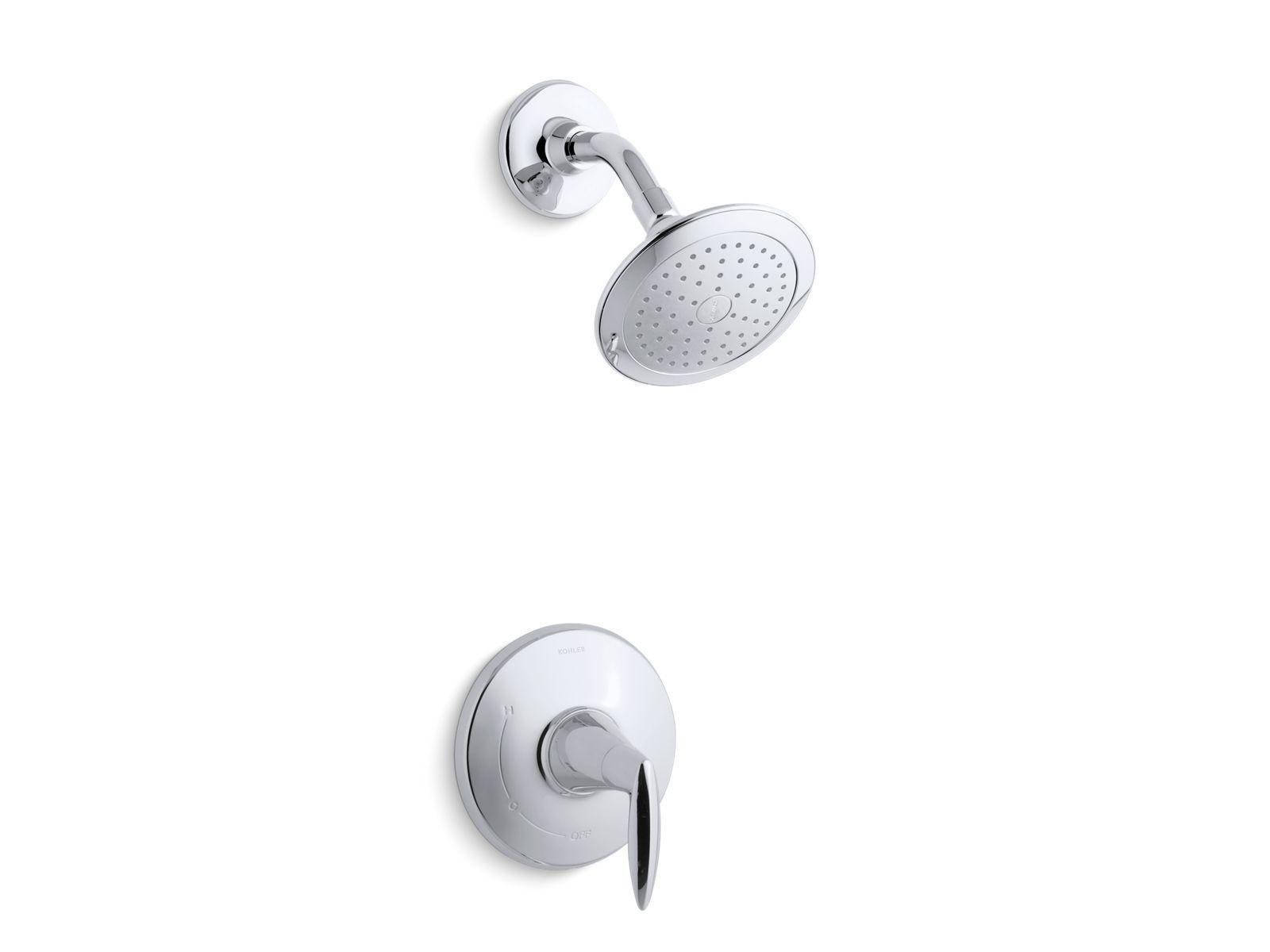 K-TS45106-4E | Alteo® Rite-Temp® shower valve trim with lever handle ...