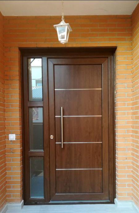 Pin de javier carrizal en puertas pinterest puertas for Modelos de puertas de madera para puerta principal