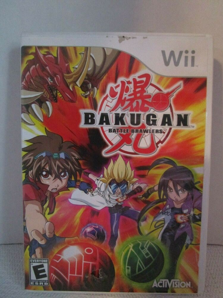 Wii Bakugan Battle Brawlers Nintendo Wii 2009 Rated E Complete