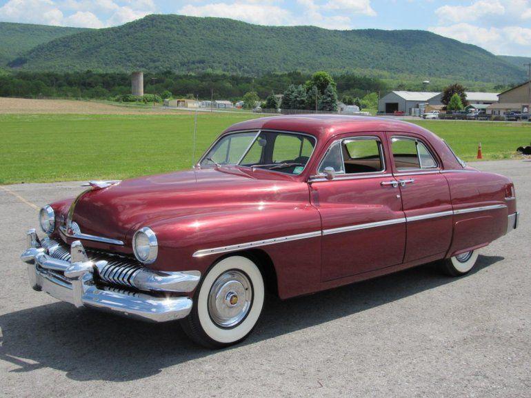 1951 Mercury Eight Sedan Vintage Cars American Classic Cars Classic Cars