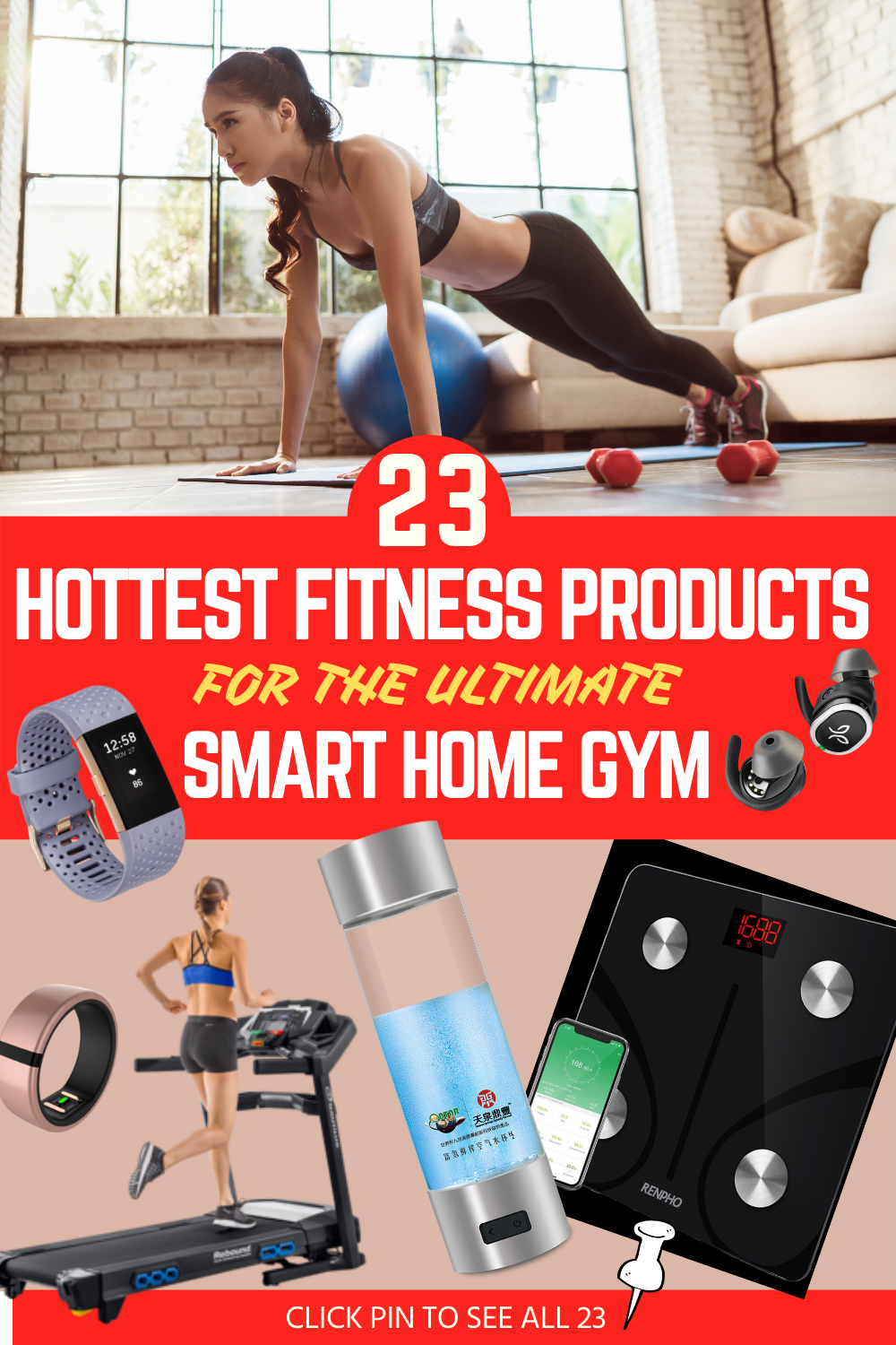 23 Hot New Fitness Technology Products For A High Tech Home Gym Workout Technology Fitness Technology Home Gym