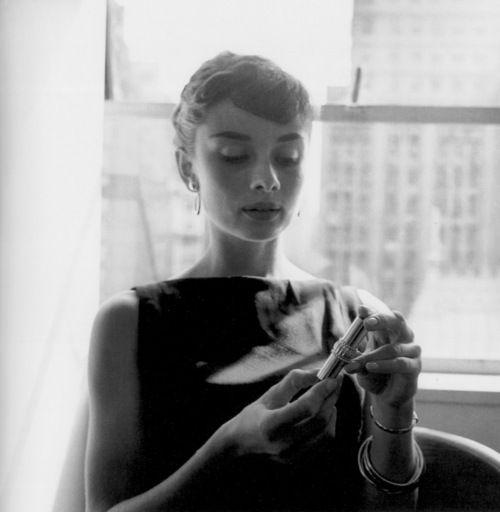 Audrey Hepburn in NYC, 1960.