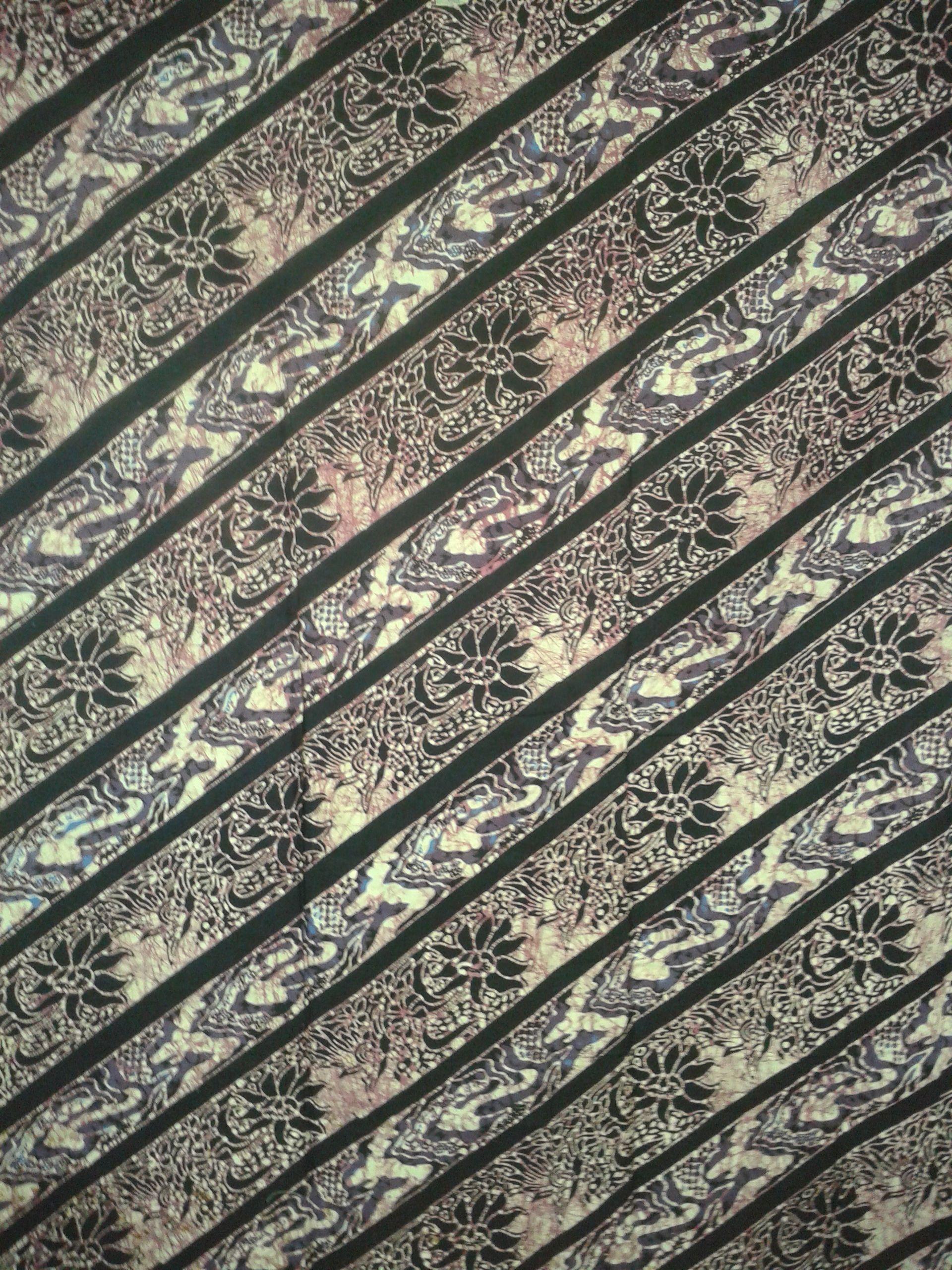 Bungabunga dalam batik Madura yang unik  Indonesian Heritage