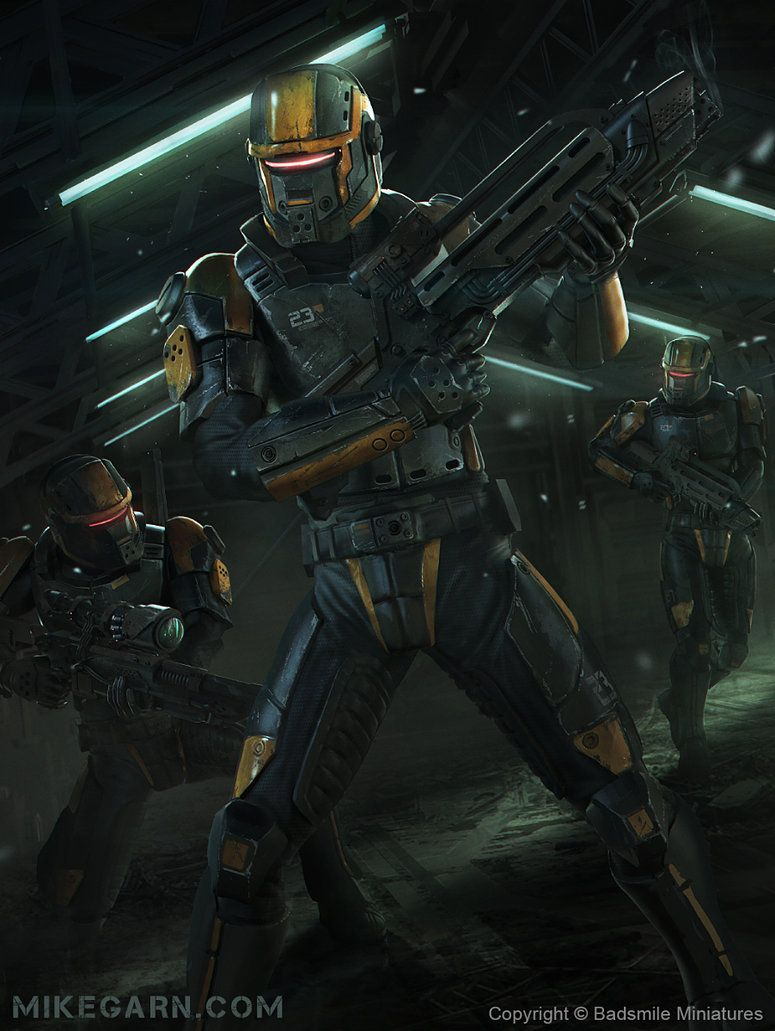 Space Police by on DeviantArt Sci
