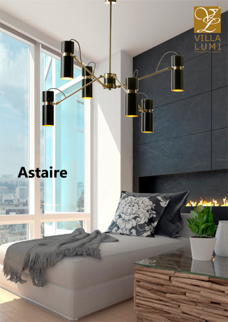ASTAIRE ceiling lamp from VILLA LUMI. Get more info at www.villa-lumi.com. See more amazing lamps in our Magazine PORTUGUESE LIGHTING NETWORK at joom.ag/DcGQ