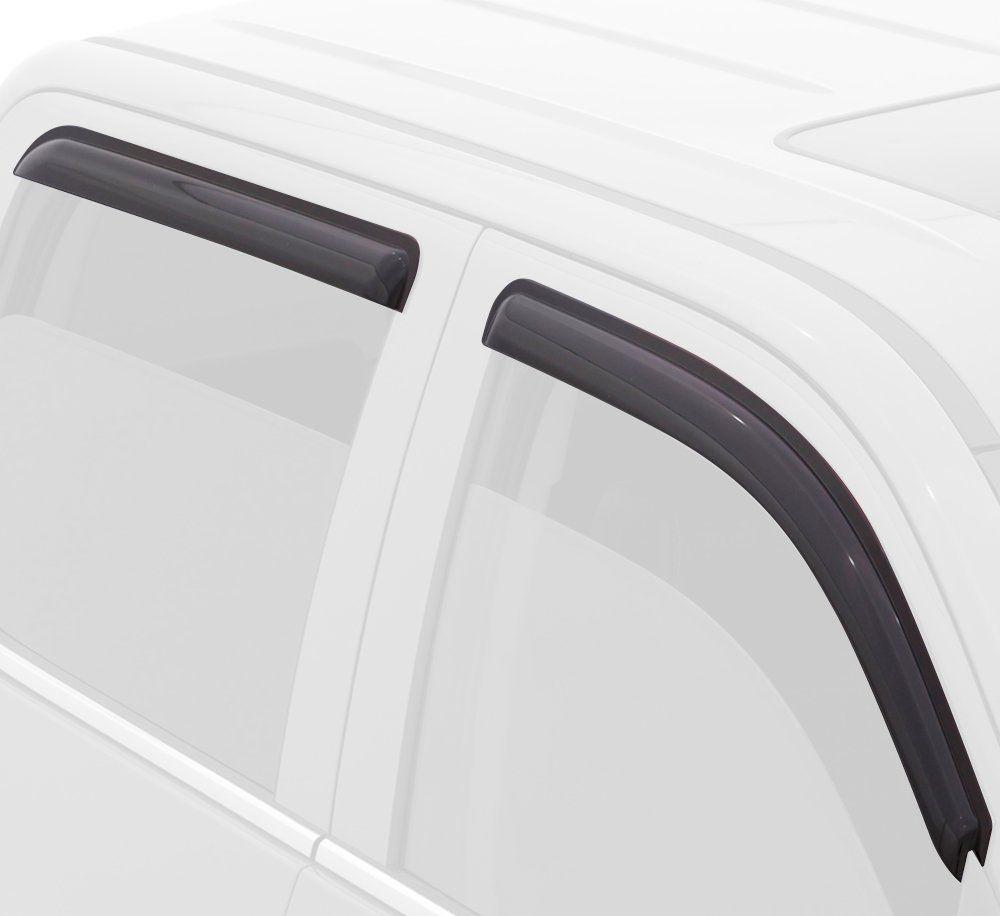 4-Piece Set for 2007-2014 Chevrolet Tahoe//GMC Yukon Auto Ventshade 94514 Original Ventvisor Side Window Deflector Dark Smoke
