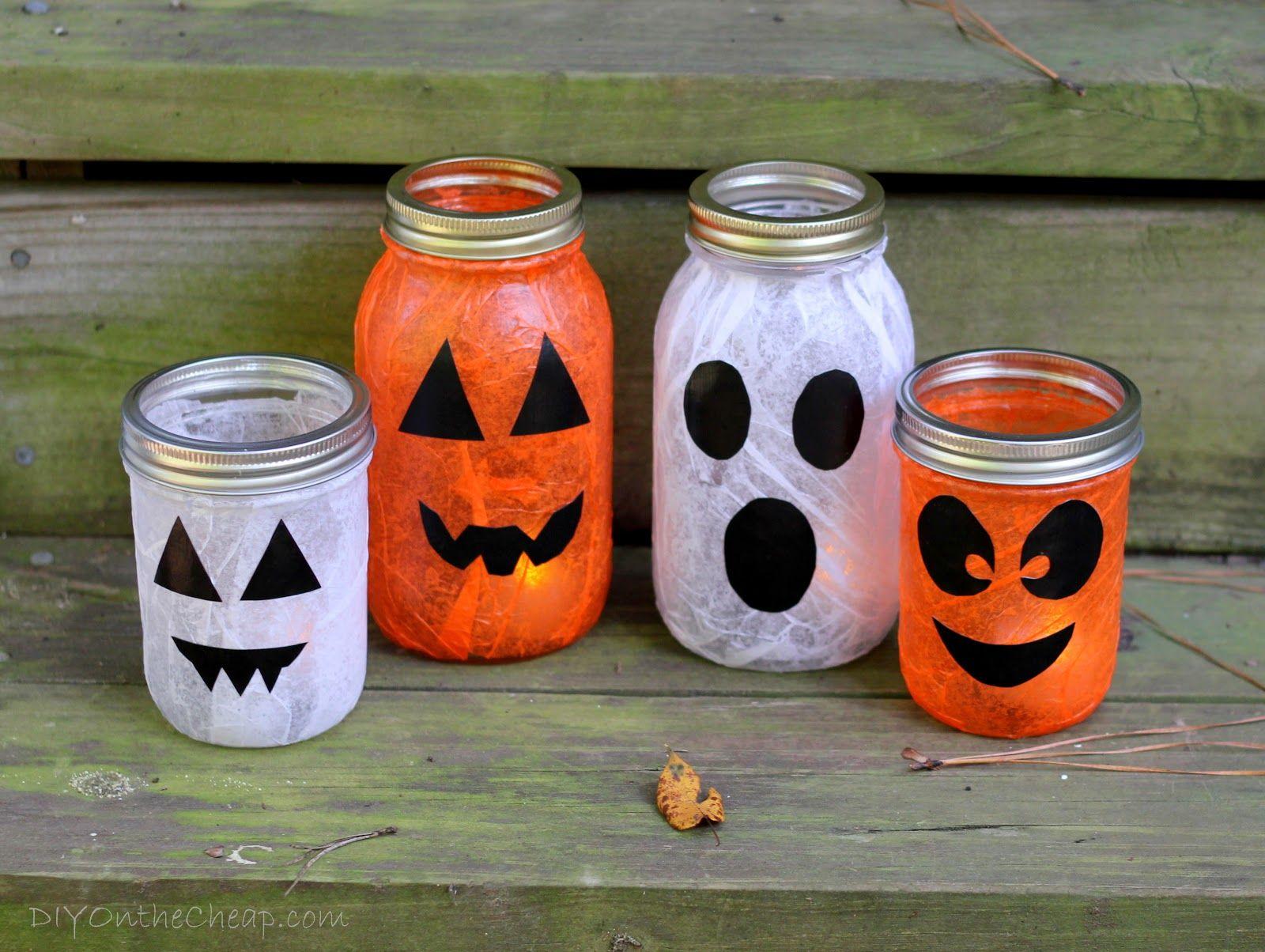 mod podge halloween lanterns halloween lanterns and halloween fun