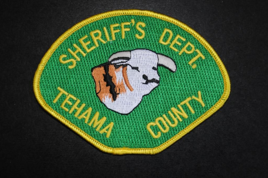Tehama County Sheriff Patch, California (Vintage Pre-2006 Issue)
