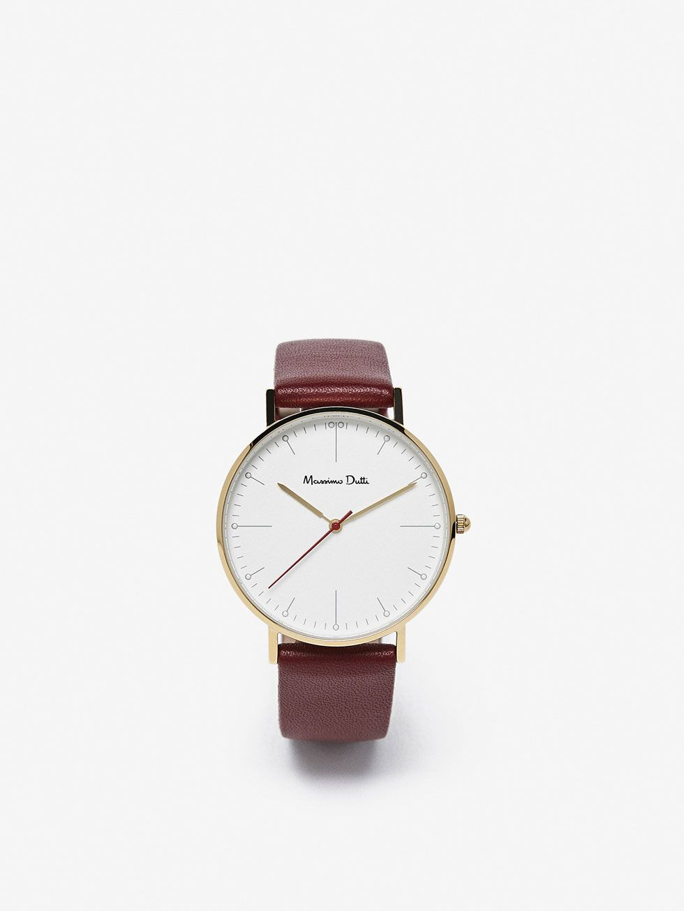 a63a5619e RELOJ DETALLE AGUJA COLOR de MUJER - Accesorios - Relojes de Massimo Dutti  de Primavera Verano