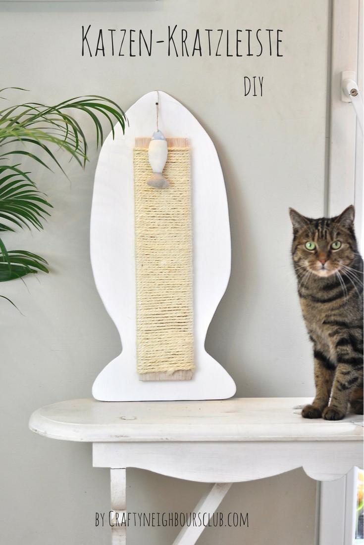 Du Suchst Ein DIY Katzenmöbel Für Die Wand ? Wir Haben Eine Kratzleiste  Gebaut, Die Deiner Samtpfote Sicher Viel Freude Bereitet. Anleitung U0026 Idee