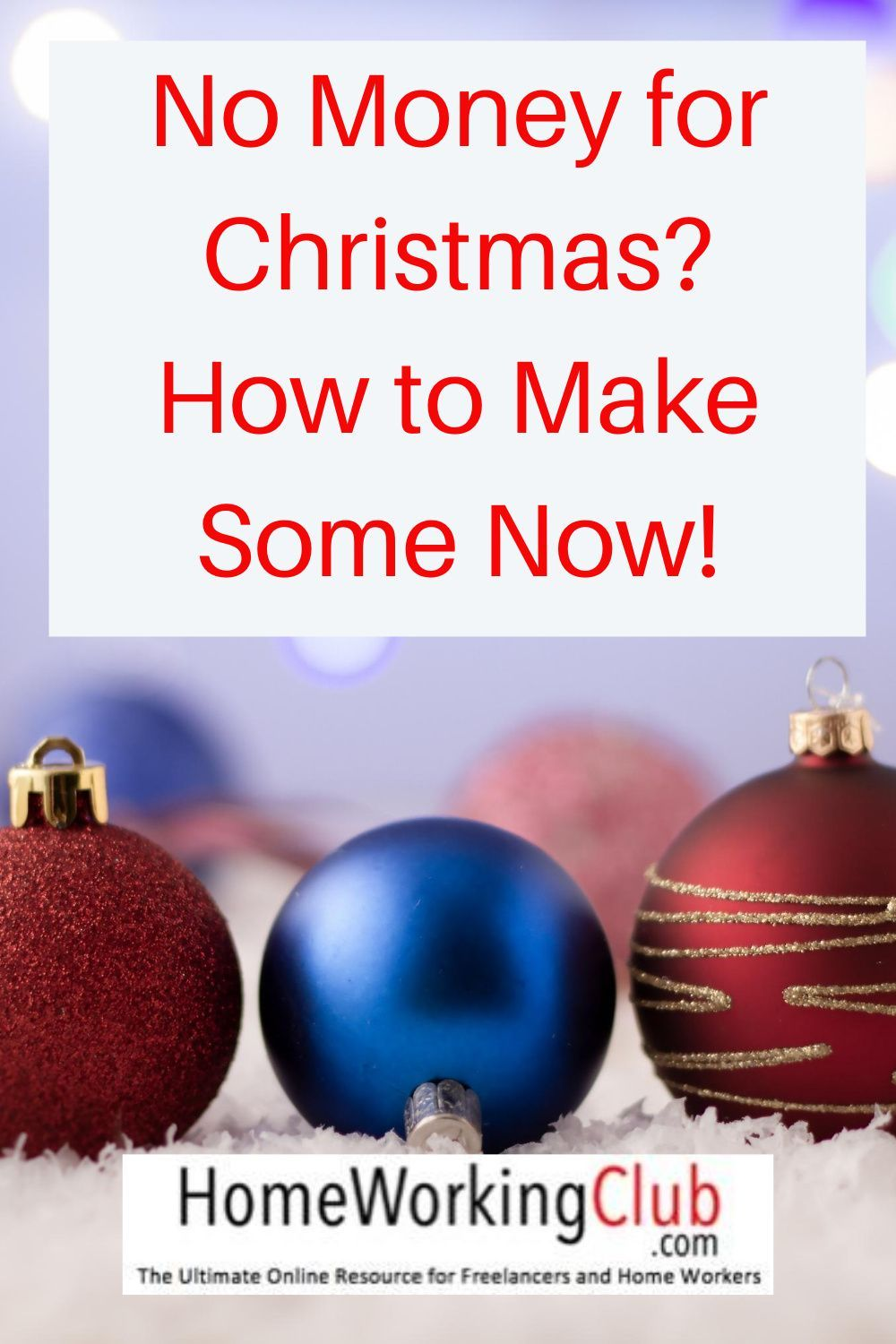 No Money For Christmas How To Make Some Now In 2020 Seasonal Jobs Buying Gifts Enjoy Writing