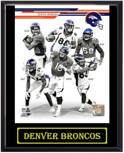 2013 Denver Broncos Picture Plaque (Black) BS Sports,http://www ...