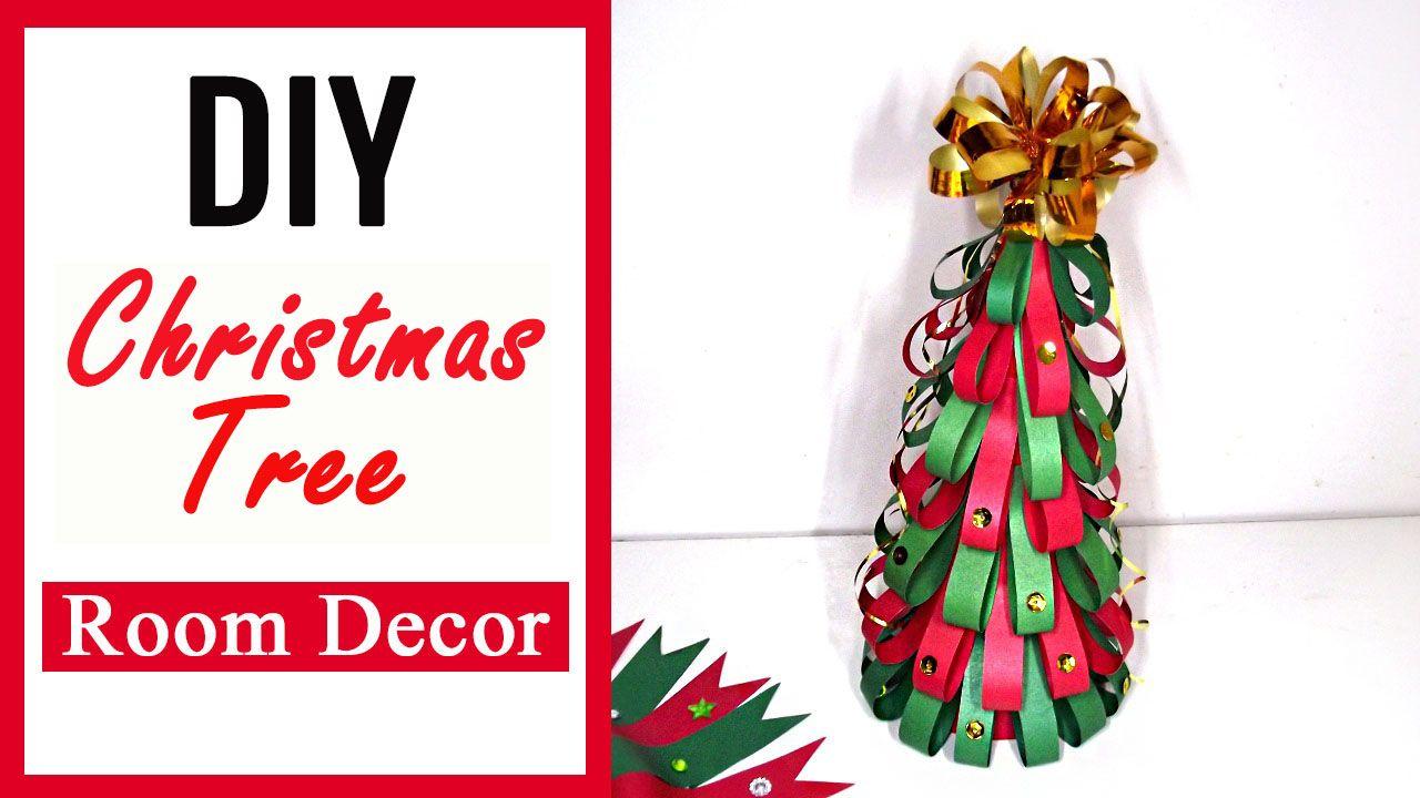 Christmas tree diy paper craft christmas room decor christmas diy
