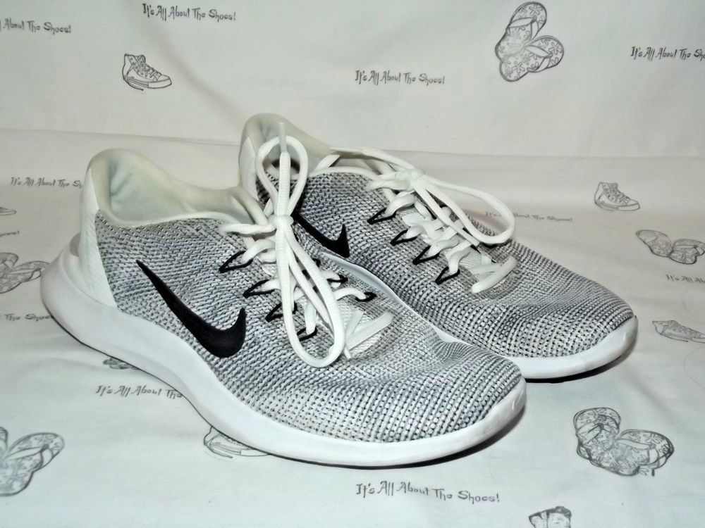 4dc3272ebce NIKE Flex RN 2018 Gray White Black Running Sneakers Mens Size 9.5  fashion   clothing  shoes  accessories  mensshoes  athleticshoes (ebay link)