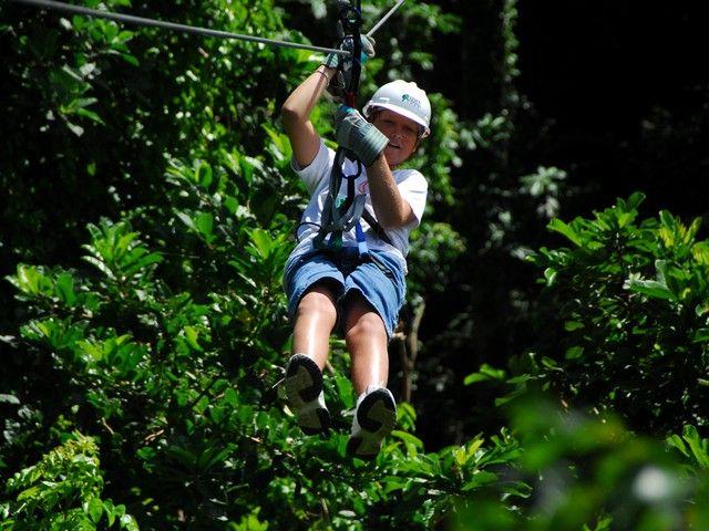 Zipline in #Barbados (Aerial Trek Zipline Adventure shore excursion - Barbados) #Caribbean