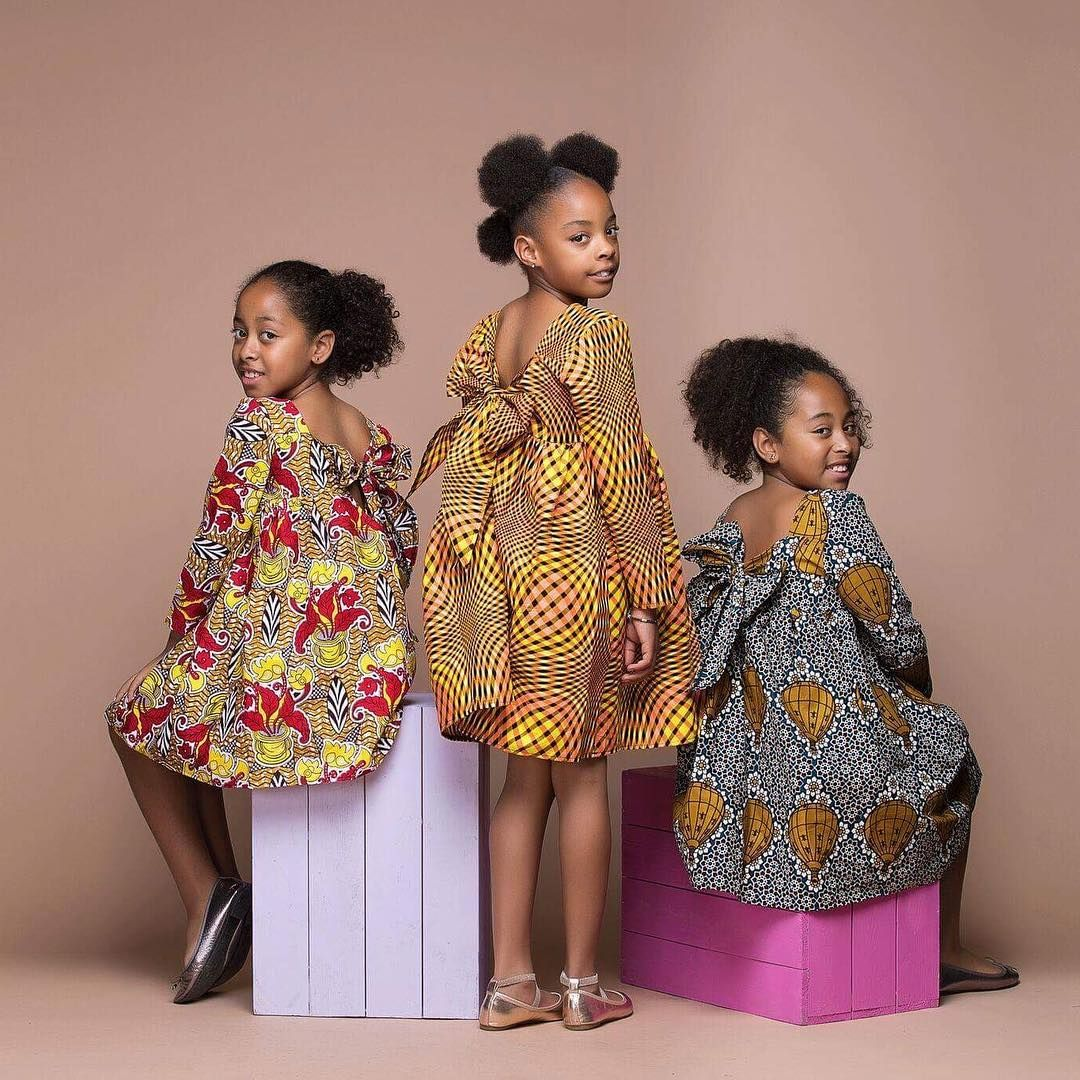 Sisterhood Is African Print You Can Shop Our New Kid S Collection And Matching Mummy Robe Africaine Pour Petite Fille Robe Africaine Fillette Tenue Fillette
