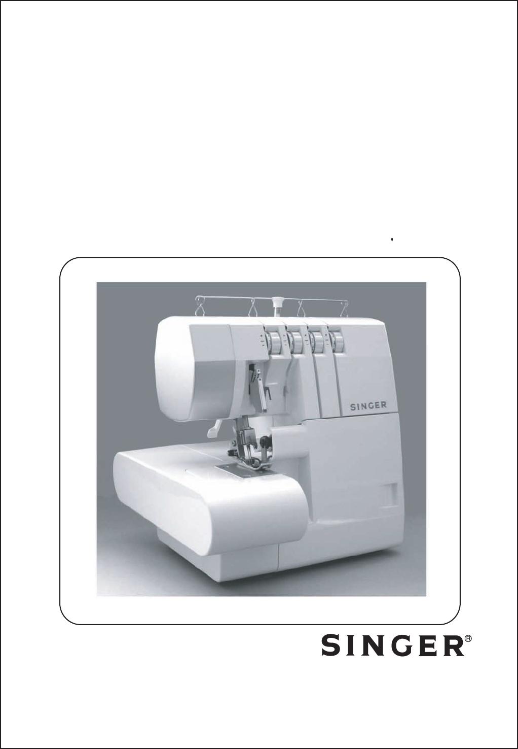 Singer Overlock 754 manual - Máquina de coser | Costura | Pinterest ...