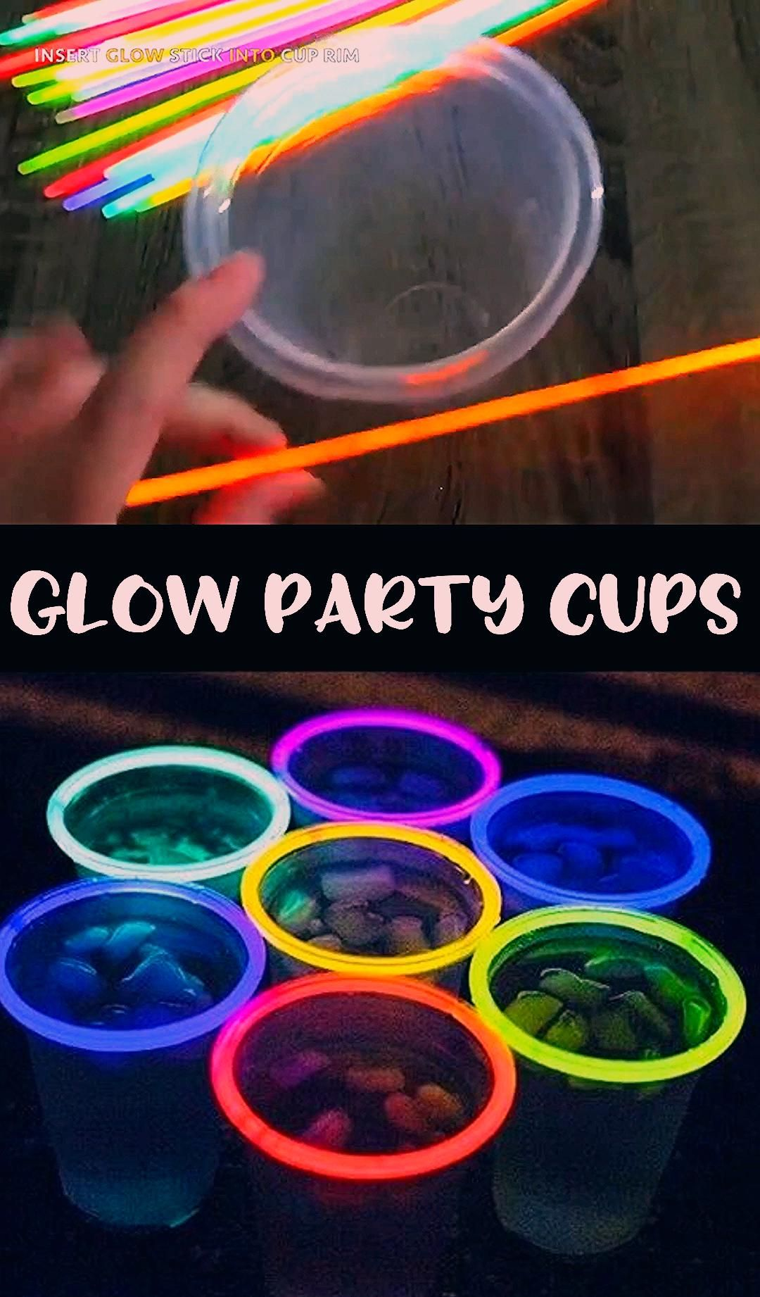 Photo of Glow in the Dark Party Cups