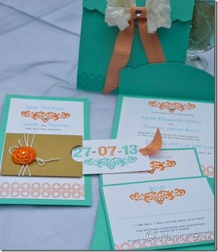 cute invitation ideas all stampin' up!