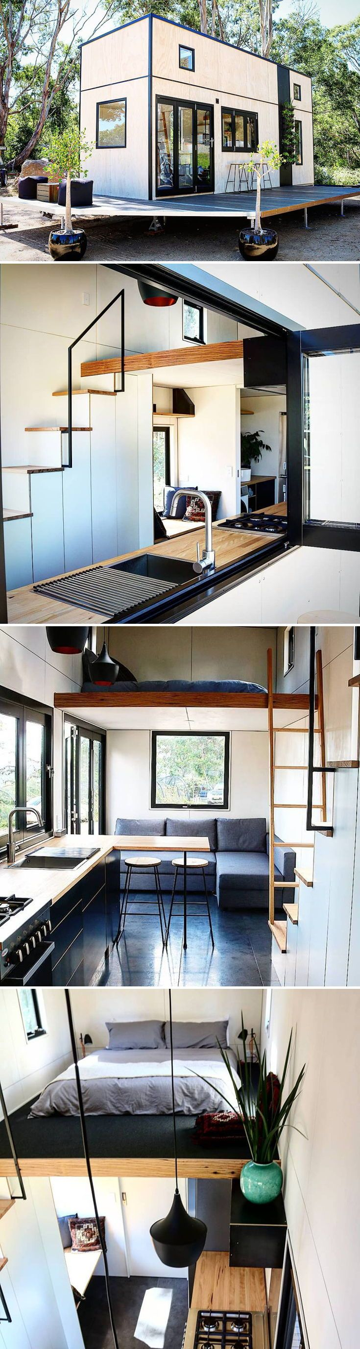 Showcase by Sowelo Tiny Houses #tinyhome
