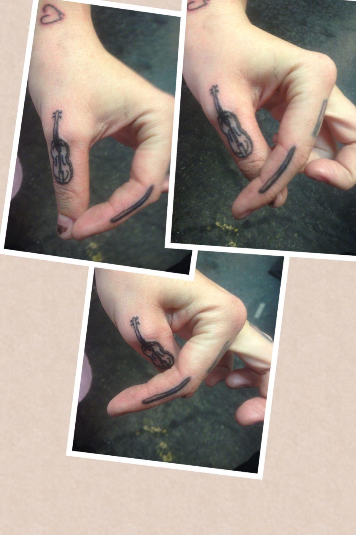 Worlds Smallest Violin Jesus Fish Tattoo Tattoos Fish Tattoos