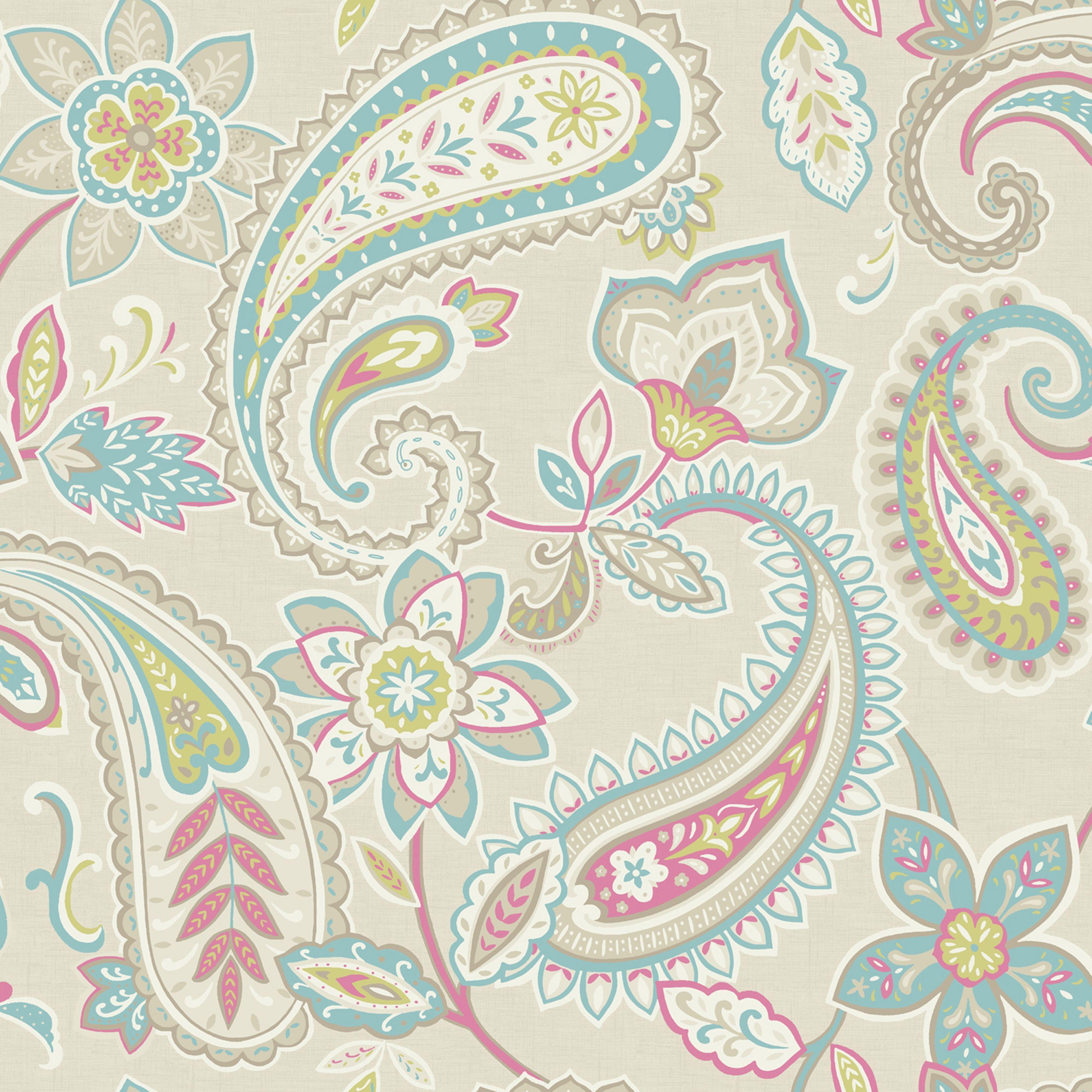 Indira Multi Paisley Wallpaper   Departments   DIY at B Q. Holden D cor Indira Paisley Wallpaper   DIY  Paisley wallpaper and