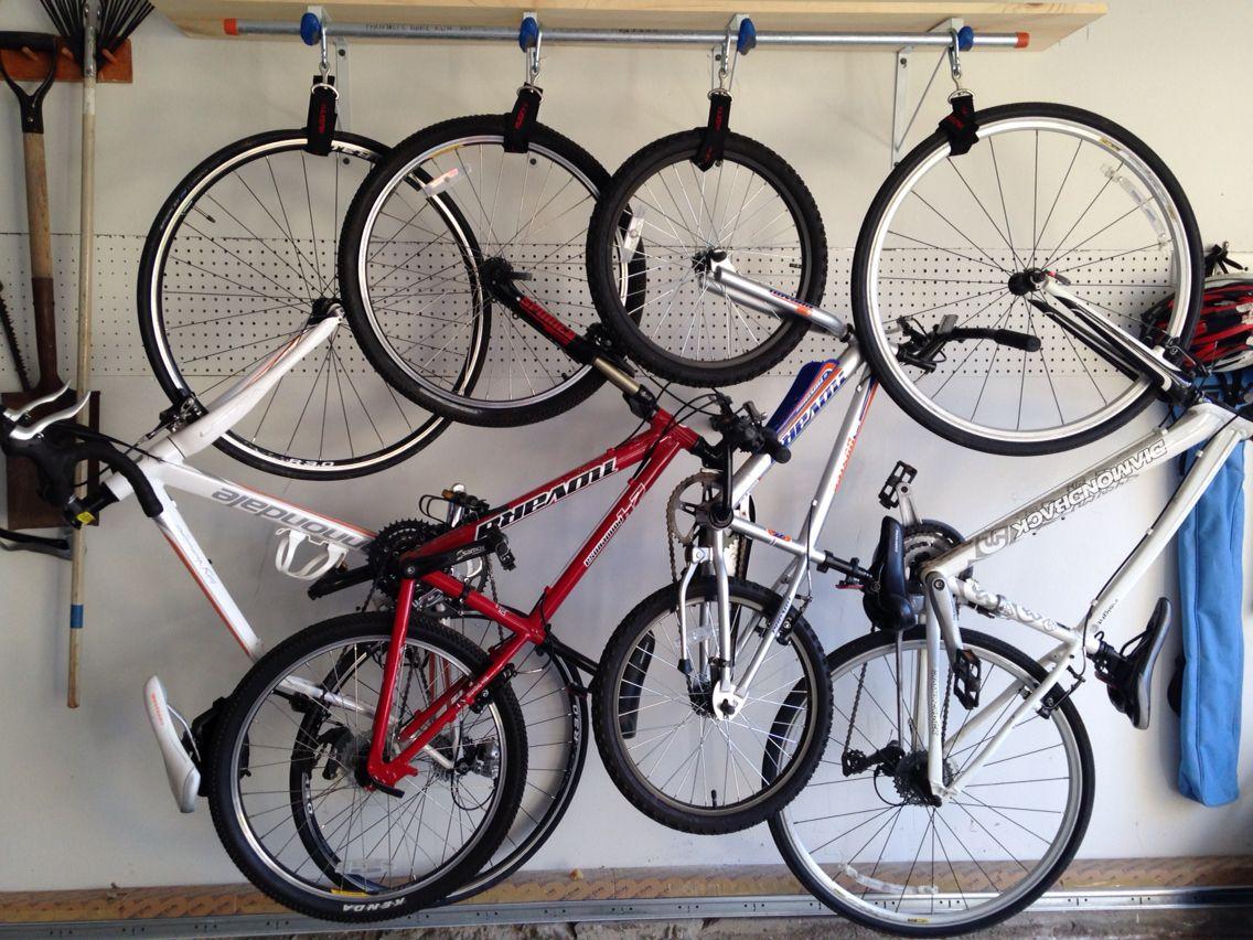 Do It Yourself Bike Rack...cost 80! bikerack Bike rack