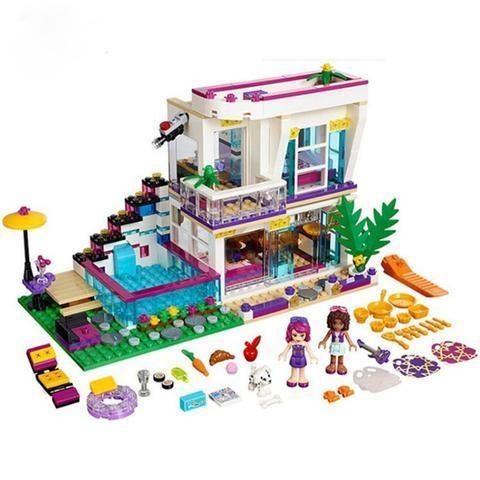LEGO FRIENDS Maison de stars Compatible avec le Set Andrea 9
