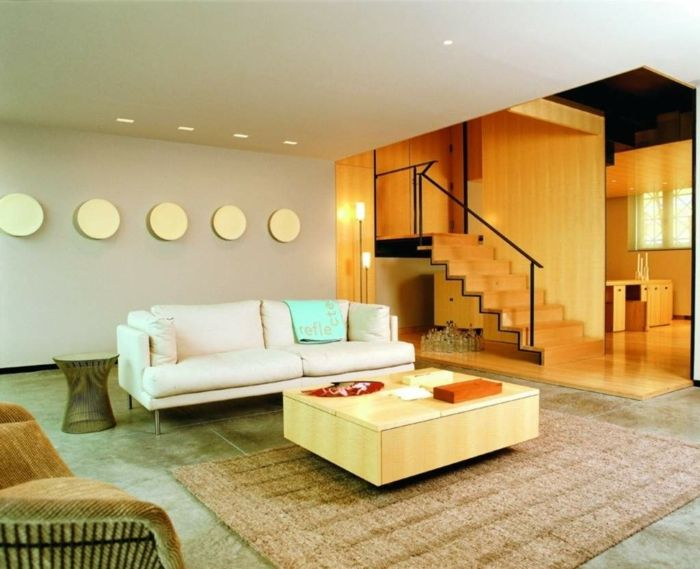 Modern living room set up - 59 examples of modern interior design - wohnzimmer lila braun