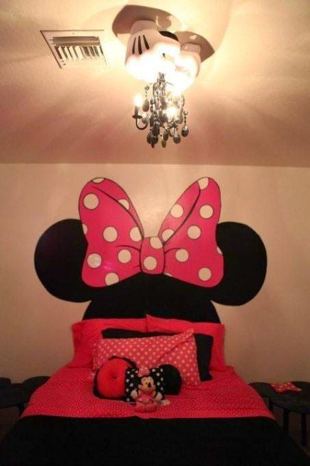 f783c6befb Construindo Minha Casa Clean  Decoração de Quartos Infantis do Mickey e da  Minnie!