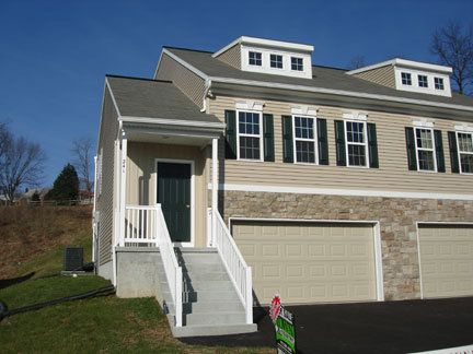 Three Story New Construction Duplex In The Eagleview Estates Neighborhood In Ephrata Pa By Garman Builders Custom Home Builders Home Builders Custom Homes