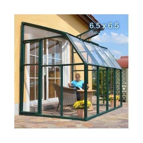 Four Seasons Sunroom Add Room Springhouse Kit Greenhouse