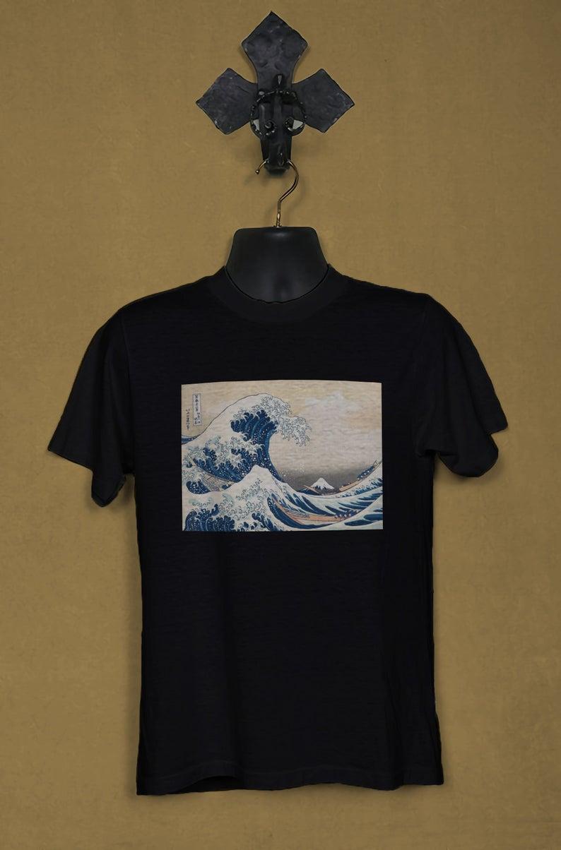 Great Wave Off Kanagawa T Shirt Na Anncloset Com Print Clothes Great Wave Off Kanagawa T Shirt [ 1204 x 794 Pixel ]