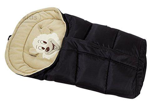 Lux4Kids Canciller Calino con el patrón de oso, grande integrada en 12 colores aprox.86-103cm x 43cm 01 negro & crema  #madre http://carritosbebe.org/producto/lux4kids-canciller-calino-con-el-patron-de-oso-grande-integrada-en-12-colores-aprox-86-103cm-x-43cm-01-negro-crema/