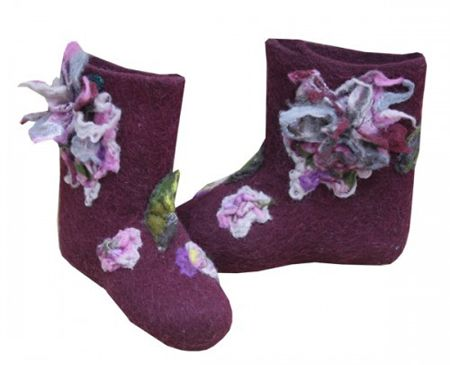 valenki-2; Russian felted boots