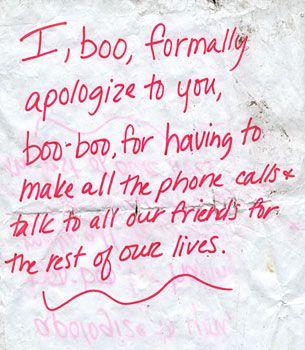 In honor of Boo-Boo