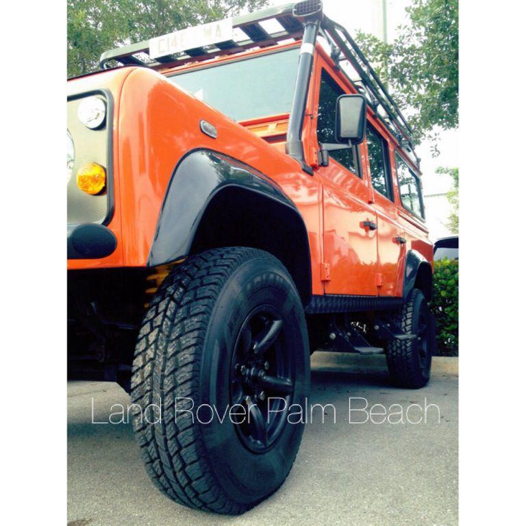 Orange is the new black... landroverpalmbeach landrover