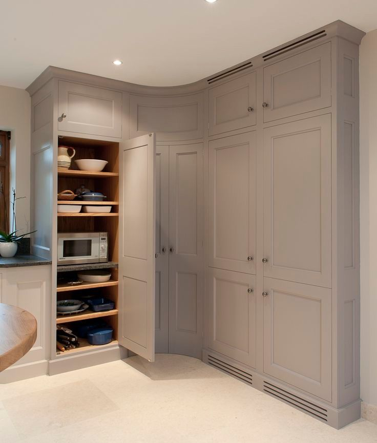 Floor to ceiling kitchen cupboards in 2019 | Kitchen corner ...