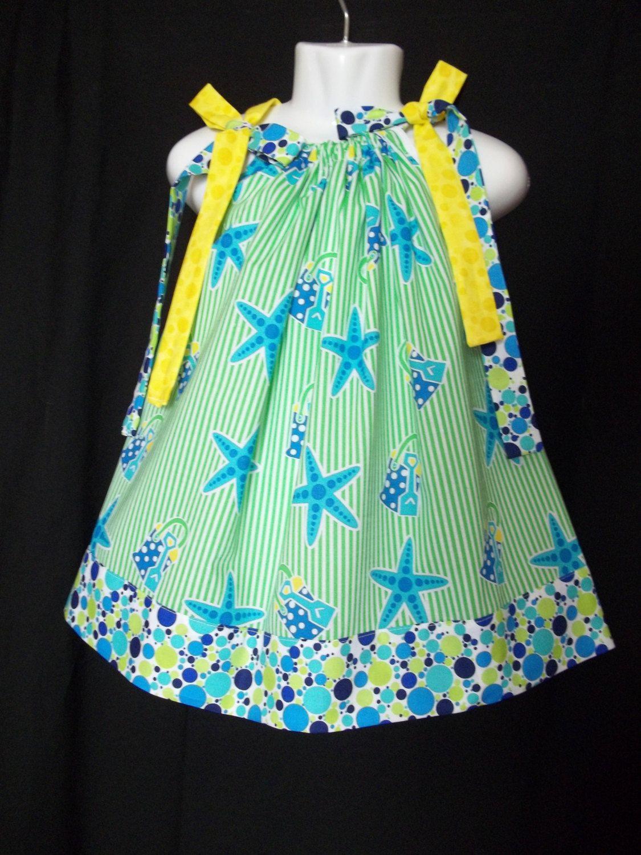 Starfish Pillowcase Dress