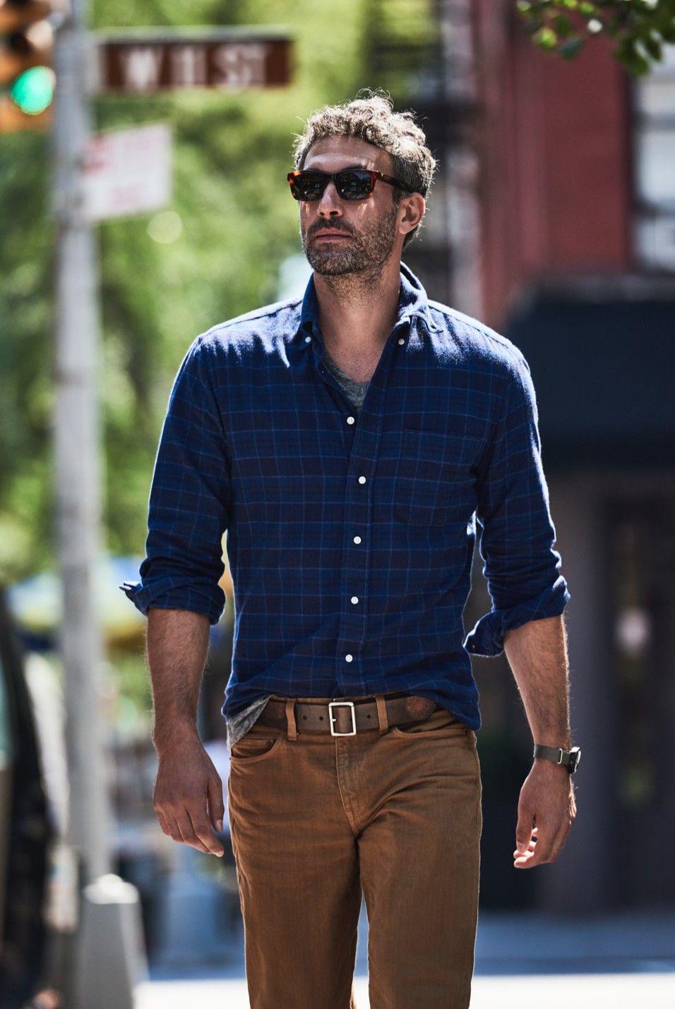 Flannel shirt under suit  The Flannel Spectrum  Menus Flannel  JCrew  fashion  Pinterest