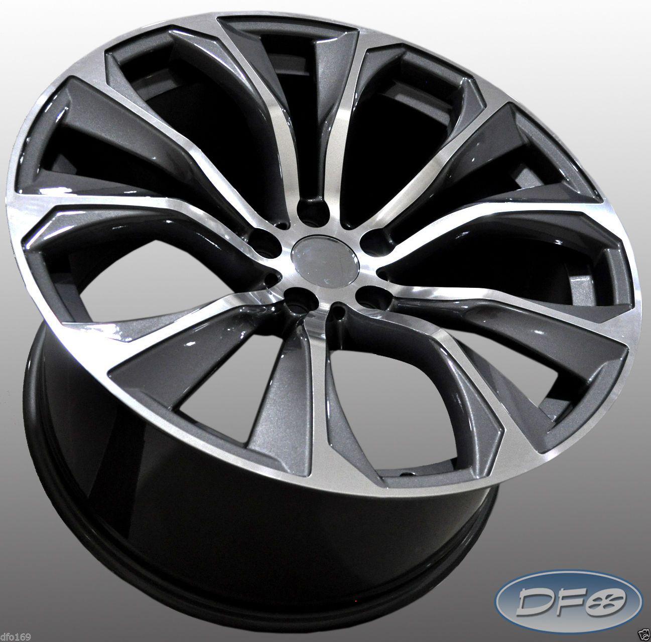 "Bmw X6 Wheels: 21"" 2015 X6 M Style Staggered Alloy Wheels Fits BMW X5 X6"