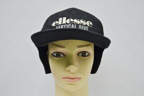 5c50a21d Ellesse Cap Ellesse Winter Cap Vintage Ellesse Vertical Dive Hat Ellesse  Vintage Ski Wear Made in Japan