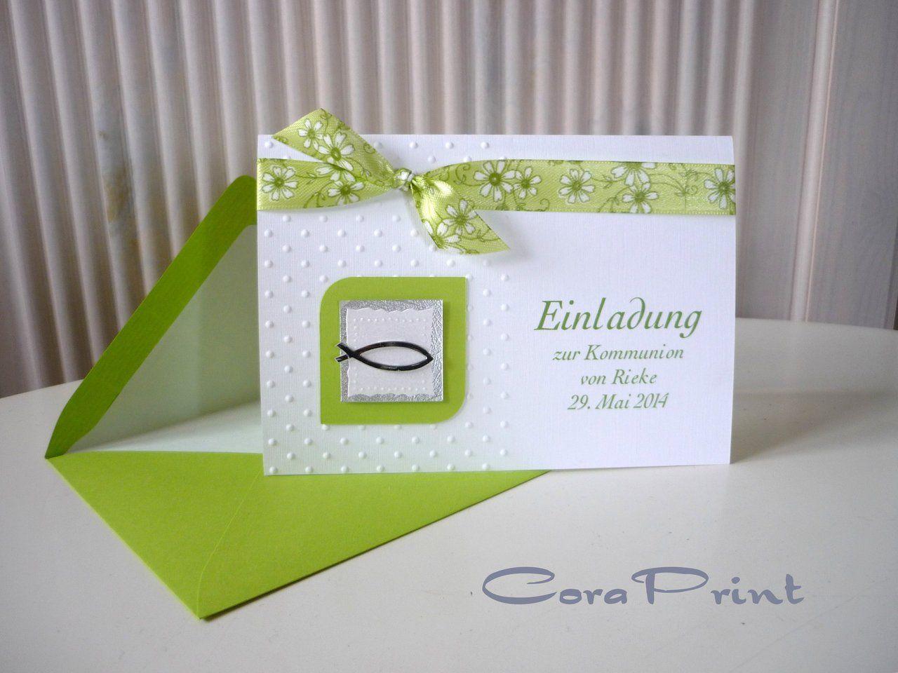 Einladungskarten kommunion kostenlos zum ausdrucken