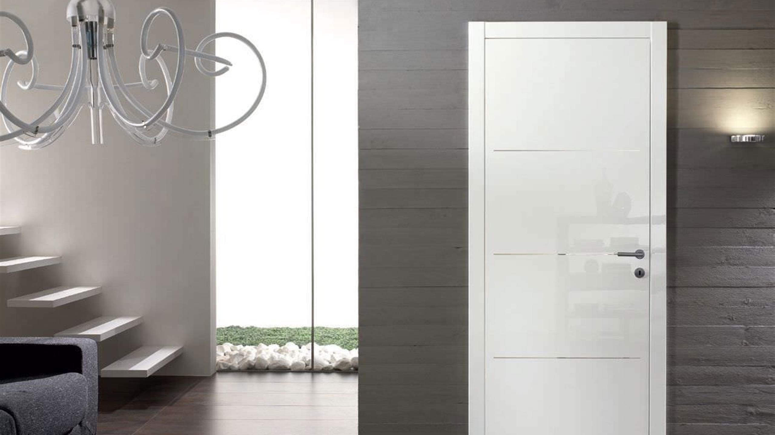 Porte Bianche Laccate Prezzi gidea di garofoli porte laccate lucide collezione smart