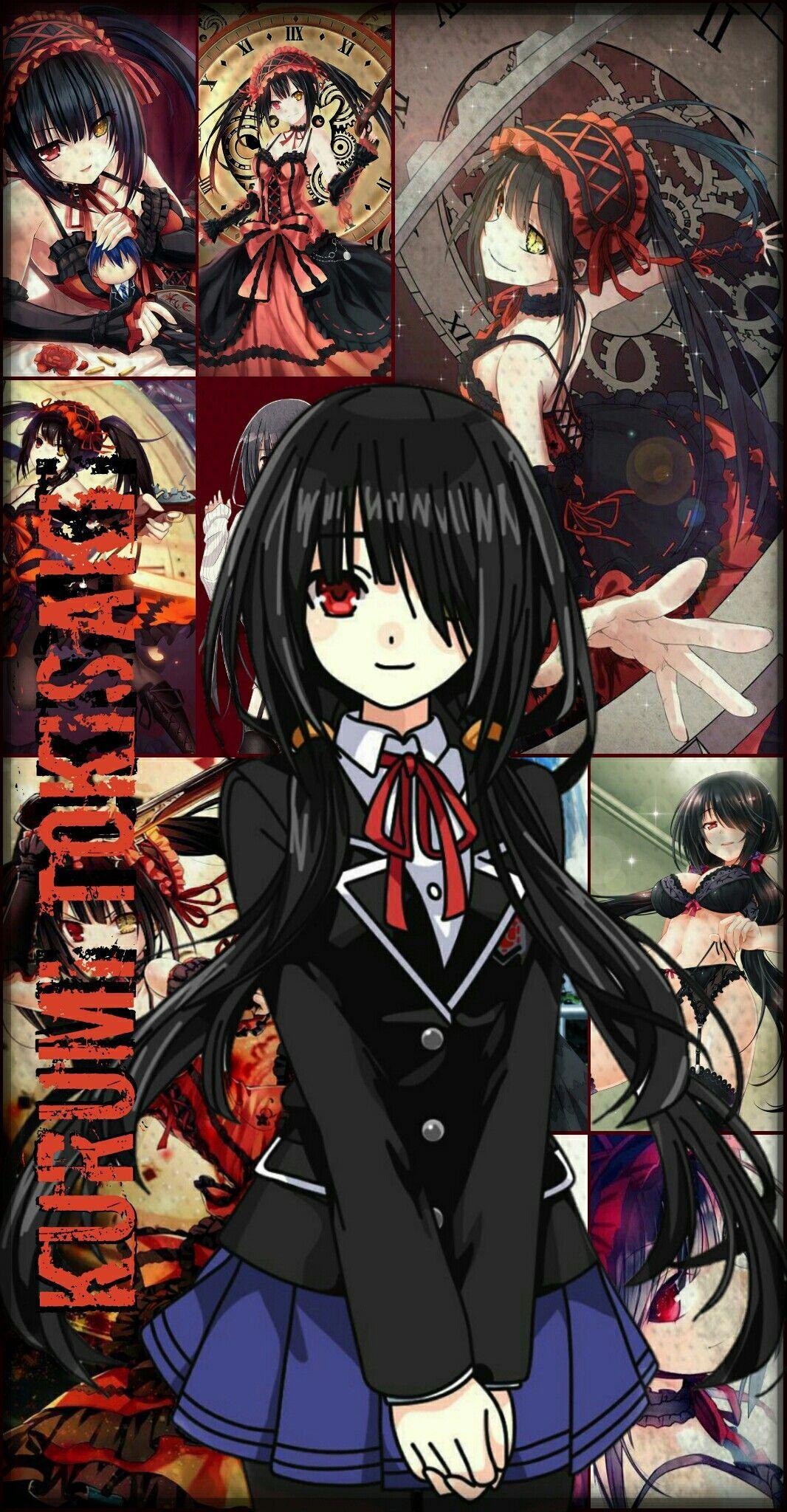 Waifus Anime Wallpaper Kurumi Tokisaki Date A Live Anime