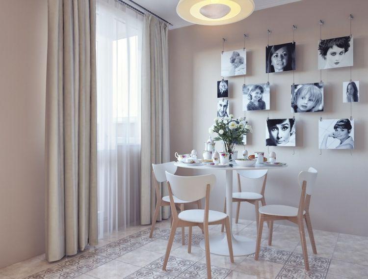 kreative Wandgestaltung Bilder Esszimmer Deko Ideen Pinterest