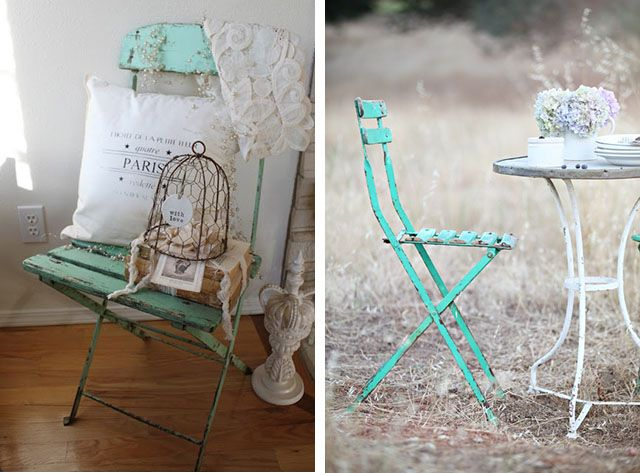Sedie Francesi ~ Home shabby home arredare vintage le sedie in stile bistrot