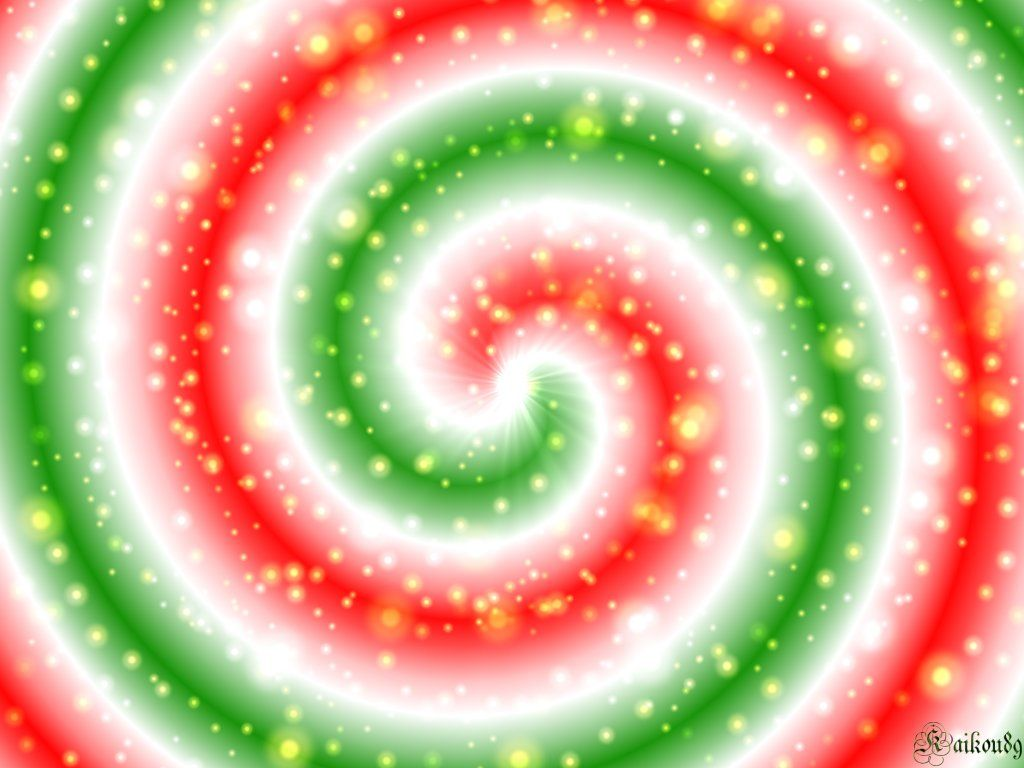 Christmas Spirals foto
