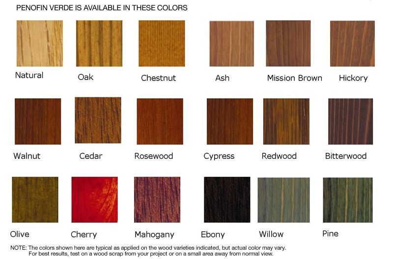Lowes Wood Stain Wood Stain Color Chart In 2019