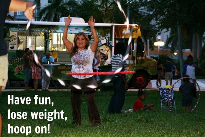 Hula Hooping at Polestars, have fun, lose weight, hoop on! #hooping #florida